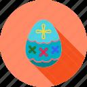 decorated egg, easter, easter celebrations, egg, food