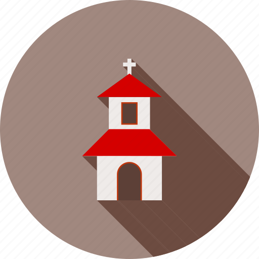 building, catholic, christian, christianity, cross, house, top icon