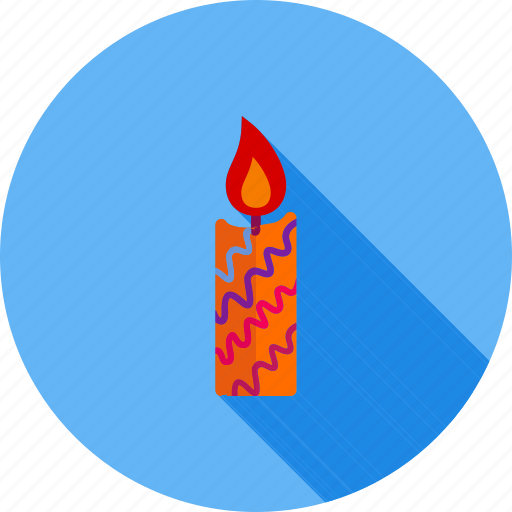 candle, candle light, decoration, fire, lamp, light icon