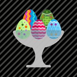 easter, egg, egg holder, egg roll, holder, tray icon