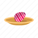 boiled egg, breakfast, eat, egg, food, meal, plate icon