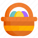 basket, celebration, easter, egg, eggs, holiday, spring