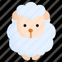 animal, easter, farm, nature, sheep, spring icon