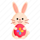 animal, bunny, easter, easter bunny, egg, holiday, spring