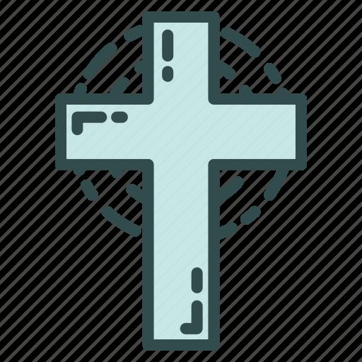 christ, christmas, cross, easter icon