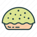 bakery, food, pie icon