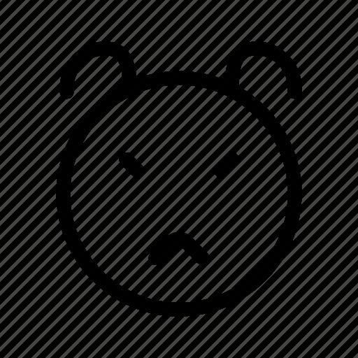 animal, face, wild, zoo icon