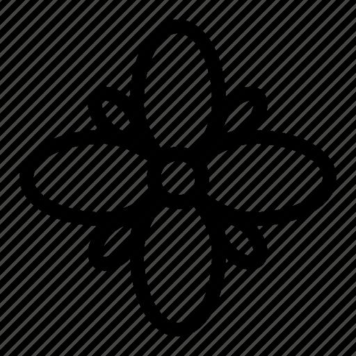 camomile, flower, garden, plant icon