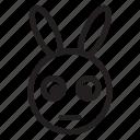 animal, bunny, rabit, zoo icon