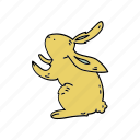 animal, color, easter, hare, holiday, rabbit