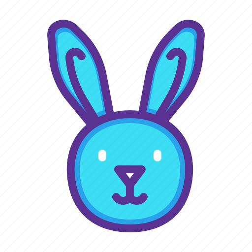 Bunny, cute, easter, happy, rabbit icon - Download on Iconfinder