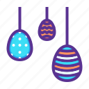 decorated, decoration, easter, egg, eggs, hanging, paschal