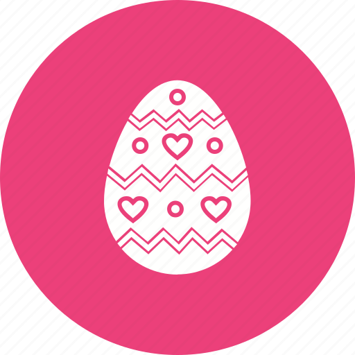 decorated egg, easter, easter celebrations, egg, food icon