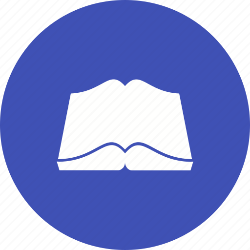 book, knowledge, learn, library, page, read, school icon