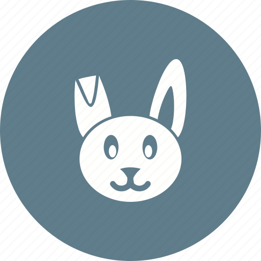 Animal, bunny, cute, easter, happy, rabbit icon - Download on Iconfinder