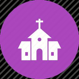 building, christ, christian, church, cross, religion icon