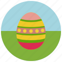 egg, easter, coloured