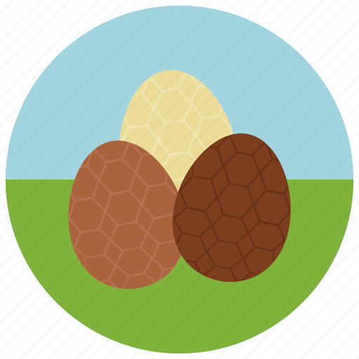 chocolate, easter, egg icon