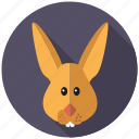 bunny, easter, easter bunny, hare, holidays, rabbit, religion icon