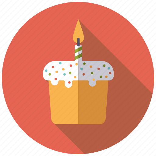 cake, candle, easter, holidays, pastry, topping icon