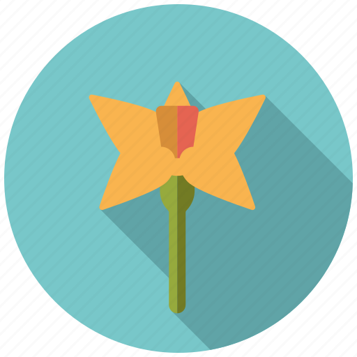 blossom, daffodil, easter, flower, holidays, plant, spring icon