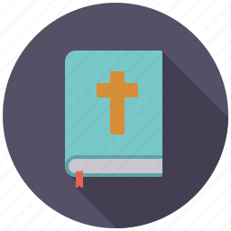 bible, book, christianity, cross, easter, holidays, religion icon