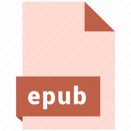 document, ebook, equb, file, format icon