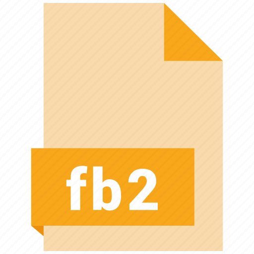document, ebook, fb2, file, format icon