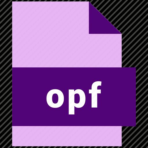 ebook, ebook file format, opf icon