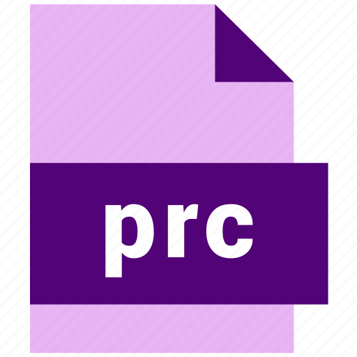 ebook, ebook file format, prc icon