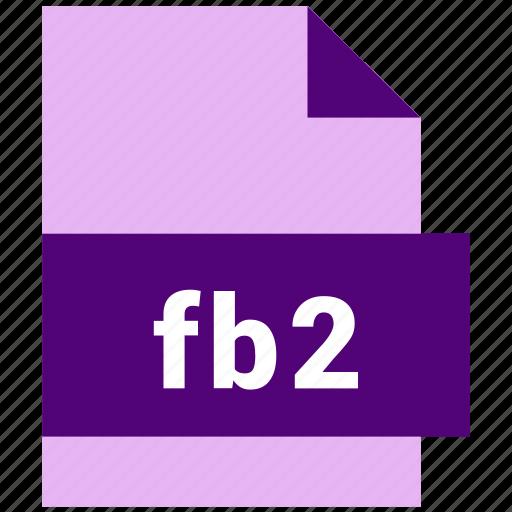 ebook, ebook file format, fb2 icon