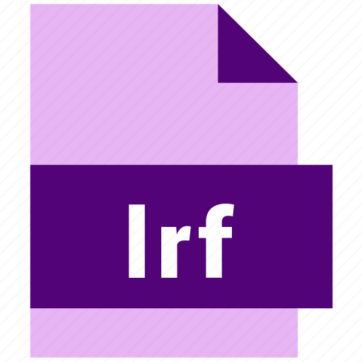 ebook, ebook file format, lrf icon