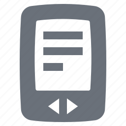 e-book, e-reader, ebook, kindle, pika, reading, simple icon
