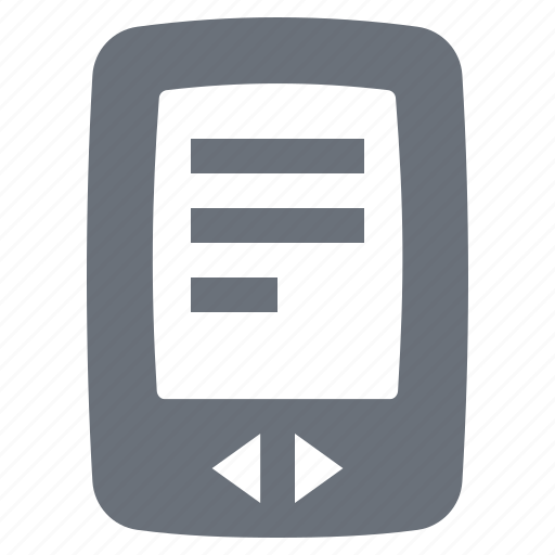 e-book, e-reader, ebook, kindle, pika, reading, simple icon