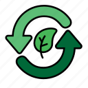 eco, ecology, energy, environment, green, nature, recycle icon