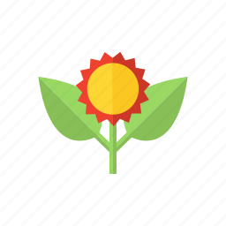 eco, ecology, environment, flower, green icon