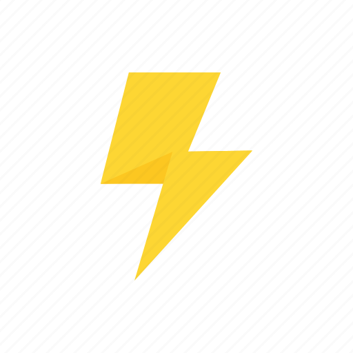 electricity, lightning, nature, weather icon icon