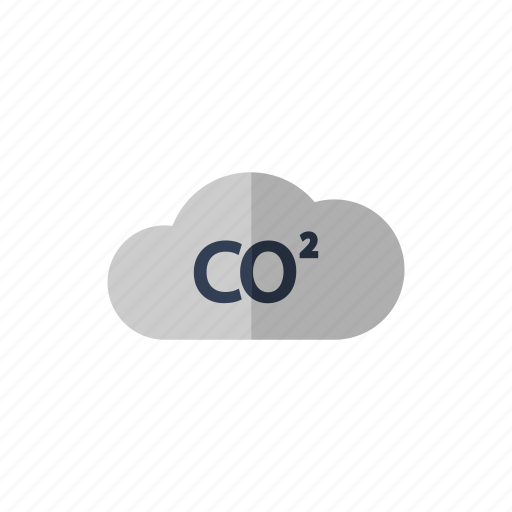 bubble, carbon dioxide, cloud icon icon