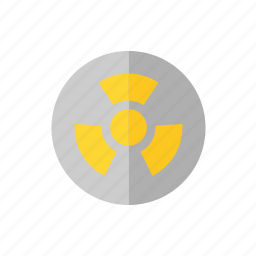 abstraction, ecology, radiation, waste icon icon
