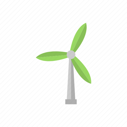 ecology, electricity, turbine, wind icon icon