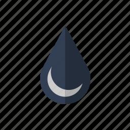 drop, fuel, oil, water icon icon