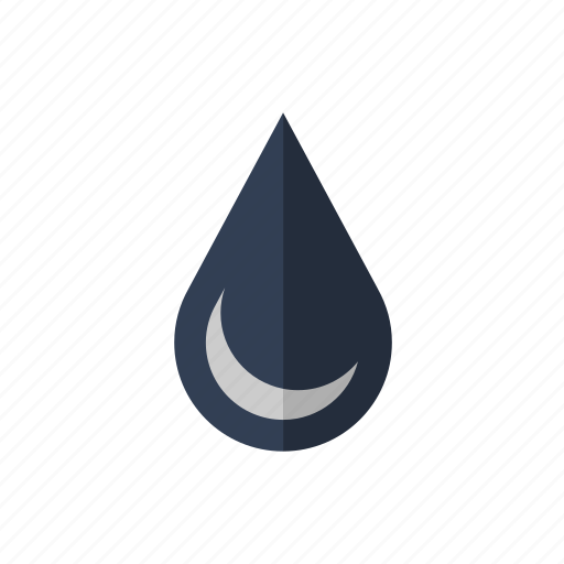 drop, fuel, oil, water icon icon