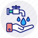 save, water, care, eco, ecology, environment, nature, hand, reuse