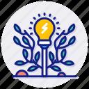 power, plants, bulb, electricity, lightbulb, warning, danger, energy, eco, lamp