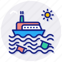 oil, in, the, sea, offshore, gas, petroleum, platform, rig, lng, natural, ship, transport icon