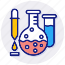 chemical, fumes, test, tube, acid, base, chemistry, creative, grid, laboratory, objects, reaction, science, shape