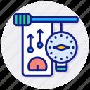nanometer, gauge, credit, meter, score, speedometer, kpa, pressure