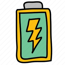 battery, eco, electricity, nature, rectangle icon