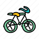 activity, bike, eco, health, hobby, speed icon