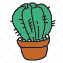 cactus, desert, eco, nature, plant, water icon